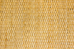 Thai handcraft of bamboo weave pattern. For background use Royalty Free Stock Images