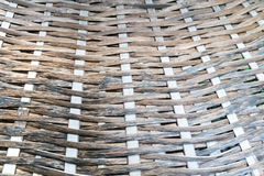 Thai handcraft of bamboo weave pattern. For background use Stock Photos