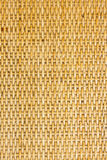 Thai Handcraft Of Bamboo Weave Pattern Royalty Free Stock Photography