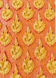 Thai handcraft pattern Stock Photography