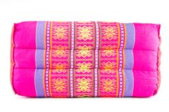 Thai handmade pillow Royalty Free Stock Image