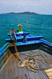Thai harbour Boat Royalty Free Stock Images