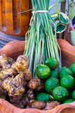 THAI HERB. Ingredient for good health Stock Photo