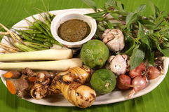Thai herb ingredient Stock Photo