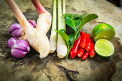 Thai herb ingredient Stock Photos