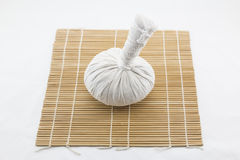 Thai herb massage ball Stock Photo