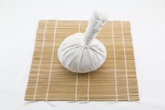 Thai herb massage ball Stock Photo