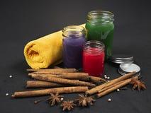 Thai herbal balm stock photo