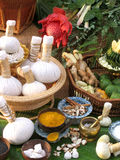 Thai Herbal Compress royalty free stock photography