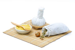 Thai herbal compress. Stock Images