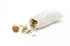 Thai herbal compress. Royalty Free Stock Photography