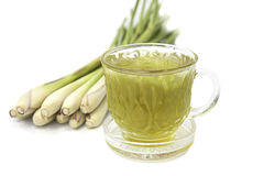 Thai herbal drinks, Lemon grass water Royalty Free Stock Photos