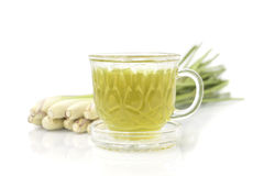 Thai herbal drinks, Lemon grass water Stock Image