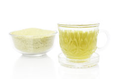 Thai herbal drinks, Lemon grass water Stock Photography