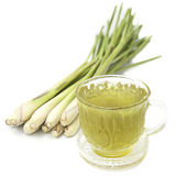 Thai herbal drinks, Lemon grass water Royalty Free Stock Images