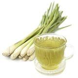 Thai herbal drinks, Lemon grass water Royalty Free Stock Images