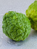Thai herbal ingredient spas Kaffir lime . - A common ingredient Stock Image