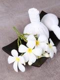 Thai herbal massage balls Royalty Free Stock Photos