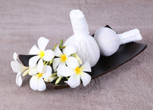 Thai herbal massage balls Stock Photo
