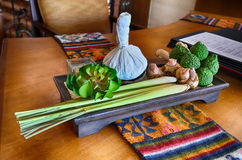 Thai Herbal massage Royalty Free Stock Images