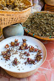 Thai herbs Royalty Free Stock Images