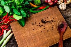 Thai Herbs to Thai Curry Paste. NO.01 royalty free stock image