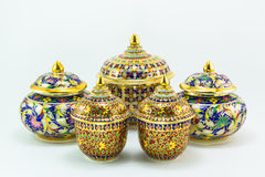 Thai heritage handicraft Royalty Free Stock Photography