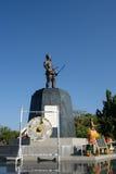 Thai hero monument in Uttaradit Province Royalty Free Stock Photo