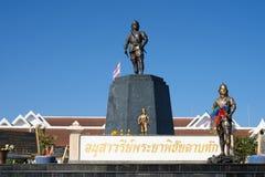 Thai Hero monument in Uttaradit Province, Thailand Stock Images