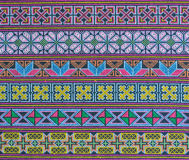 Thai hill tribe fabric Royalty Free Stock Photography