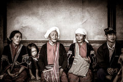 Thai hill tribe in northern part of Thailand Stock Images