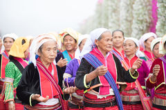 Thai hill tribe in northern part of Thailand Stock Image