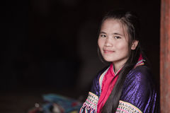 Thai hill tribe in northern part of Thailand Stock Photos