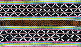 Thai hilltribe fabric pattern Stock Photography