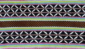 Thai hilltribe fabric pattern Stock Photography