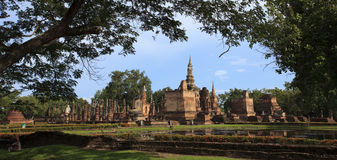Thai historical park Royalty Free Stock Photo