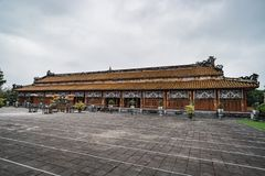 Thai Hoa Palace in the UNESCO World Heritage site of Imperial Palace and Citadel in Hue Vietnam stock photos