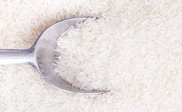 Thai Hom Mali White Rice royalty free stock photo