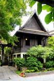 Thai home style. Antique thai home style in Bangkok stock photography