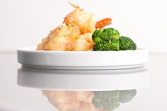 Thai Honey Shrimp Dish Stock Image