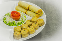 Thai Hors för mat d'oeuvres Arkivbilder