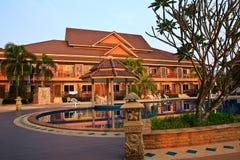 thai hotellstil Royaltyfria Bilder