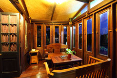 Thai house interior Stock Photos