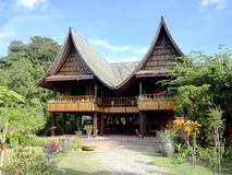 Thai house in Phuket Royalty Free Stock Images