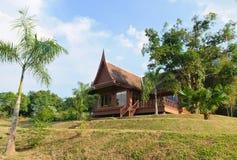Thai house style Royalty Free Stock Photo