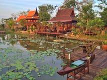 Thai house style Royalty Free Stock Image