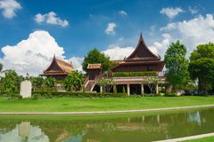 Thai House Style of Thailand Stock Image