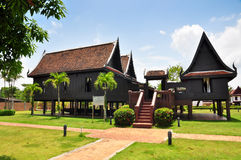 Thai House Traditional Style Stock Image