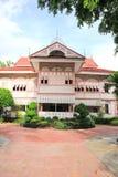 Thai house traditional style (Vongburi House) in Phrae, Thailand Royalty Free Stock Photo