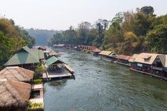 Thai houseboat Royalty Free Stock Photos